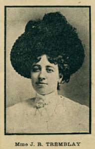 Fanny Tremblay en 1909
